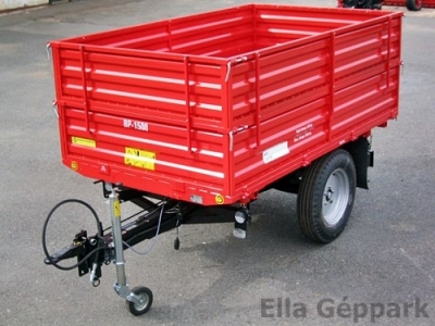 BP-1500 Pótkocsi három oldalra billenős, átmenő hidraulikus