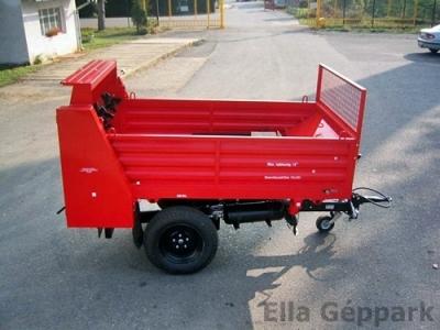 BP-1500 SZ Pótkocsihoz szervestrágyaszóró felépítmény