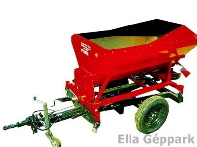 BP-1500 M Cserélhető felépítmény műtrágyaszóró pótkocsira