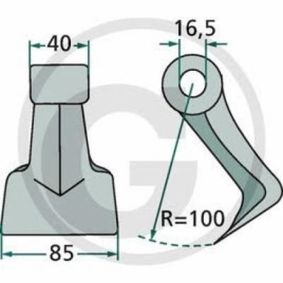Mulcsozó kalapács (GEO)