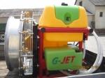 G-JET 200/810 axiálventillátoros kertészeti permetező