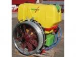 G-JET 600/810 axiálventillátoros kertészeti permetező