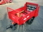 BP-1500 SZ Szervestrágyaszóró pótkocsi + szállító felépítmény